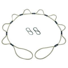 SKILCRAFT® LoopRope Fastening System - 5' - Tan