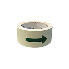"Photoluminescent Multipurpose Adhesive Tape w/Directional Arrows - 1-1/4"" x 25'"
