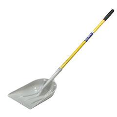 "Scoop Shovel ABS Heads - 51"" Fiberglass Cushioned Grip Handle"