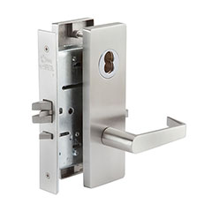 SKILCRAFT® Door Locks Mortise MR Series - Classroom Hold-Back F06 - MR 113 - Philadelphia