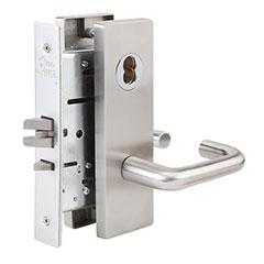 SKILCRAFT® Door Locks Mortise MR Series - Classroom Hold-Back F06 - MR 113 - Dallas