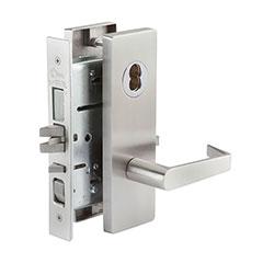 SKILCRAFT® Door Locks Mortise MR Series - Front Door / Apartment / Corridor F08 - MR 117 - Philadelphia