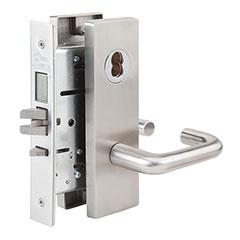 SKILCRAFT® Door Locks Mortise MR Series - Front Door / Apartment / Corridor F08 - MR 117 - Dallas