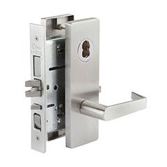 SKILCRAFT® Door Locks Mortise MR Series - Dormitory F11 - MR 158 - Philadelphia