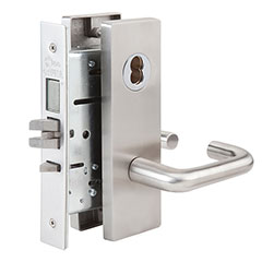 SKILCRAFT® Door Locks Mortise MR Series - Dormitory F11 - MR 158 - Dallas