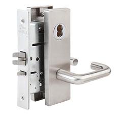 SKILCRAFT® Door Locks Mortise MR Series - Passage F01 - MR 126 - Dallas