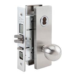 SKILCRAFT® Door Locks Mortise MR Series - Apartment Corridor F20 - MR 162 - Ball Knob