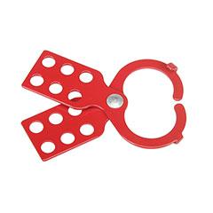 "SKILCRAFT® Lockout Tagout Hasp w/tabs - 4-1/2"" x 1-1/2"""