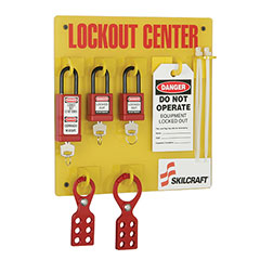 SKILCRAFT® 3 Padlocks Fully Stocked