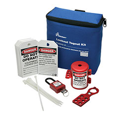 SKILCRAFT® Lockout Tagout Kit with Small Plug Lockout