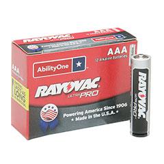 Alkaline AAA 1.5V Battery - 12/PG
