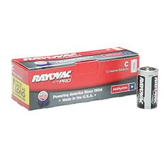 Alkaline C 1.5V Battery - 12/PG