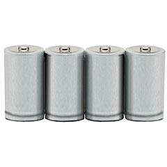 Alkaline D 1.5V Battery - 4/PG