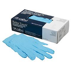 Blue Nitrile Examination Powder-Free Gloves - Small