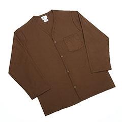 Mens Pajama Top - Medium - Brown