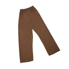 Mens Pajama Bottom - Medium - Brown