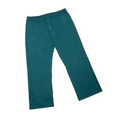 Mens Pajama Bottom - 2XL - Hunter Green