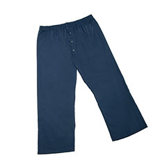 Mens Pajama Bottom - 3XL - Navy Blue