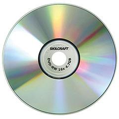 Media Disk Branded Attribute - DVD-RW - 4x - 5/PG