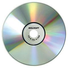Media Disk Branded Attribute - CD-R - 52x - 100/PG