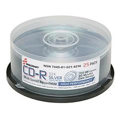 CD-R Compact Disc Recordable - 25 per Box