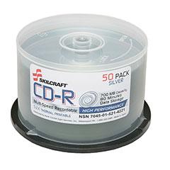 CD-R Compact Disc Recordable - 50 per Box