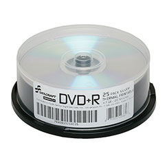Digital Video Disc Recordable - 8x Record Speed