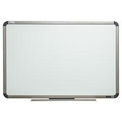 "Quartet®/SKILCRAFT® Total Erase® White Board - 72"" x 48"" - Euro Titanium Finish Aluminum Frame"
