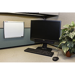"Quartet®/SKILCRAFT® Cubicle Magnetic Dry Erase Board - 14"" x 11"""