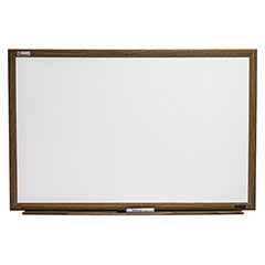 "Quartet®/SKILCRAFT® Melamine Dry Erase White Boards - 48"" x 36"""