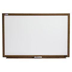 "Quartet®/SKILCRAFT® Melamine Dry Erase White Boards - 36"" x 24"""
