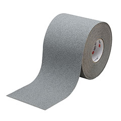 """SKILCRAFT® Peel-and-Stick Nonskid Tapes and Treads - Medium Resilient - 2"""" x 60' Roll - Gray"""