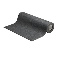 """SKILCRAFT® Peel-and-Stick Nonskid Tapes and Treads - Coarse - 18"""" x 30' - Black"""