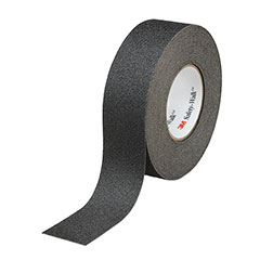 """SKILCRAFT® Peel-and-Stick Nonskid Tapes and Treads - General Purpose - 2"""" x 60' Roll - Black"""