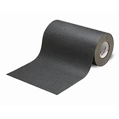 """SKILCRAFT® Peel-and-Stick Nonskid Tapes and Treads - General Purpose - 12"""" x 60' - Black"""