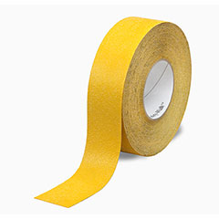 """SKILCRAFT® Peel-and-Stick Nonskid Tapes and Treads - Conformable - 4"""" x 60' - Yellow"""