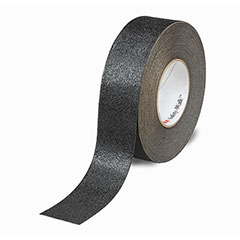 """SKILCRAFT® Peel-and-Stick Nonskid Tapes and Treads - Conformable - 2"""" x 60' Roll - Black"""