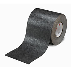 """SKILCRAFT® Peel-and-Stick Nonskid Tapes and Treads - Conformable - 4"""" x 60' - Black"""