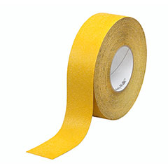 """SKILCRAFT® Peel-and-Stick Nonskid Tapes and Treads - Conformable - 2"""" x 60' Roll - Yellow"""