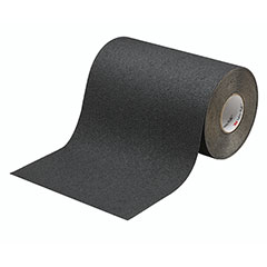 """SKILCRAFT® Peel-and-Stick Nonskid Tapes and Treads - Medium Resilient - 12"""" x 60' - Black"""