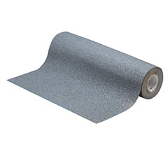 SKILCRAFT® Peel-and-Stick Nonskid Tapes and Treads - Coarse - 4' x 5' Roll - Gray