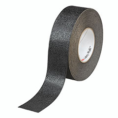 """SKILCRAFT® Peel-and-Stick Nonskid Tapes and Treads - Conformable - 1"""" x 60' Roll - Black"""