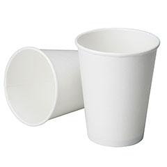 Disposable Paper Cup - Cold Liquids - 6 oz - White