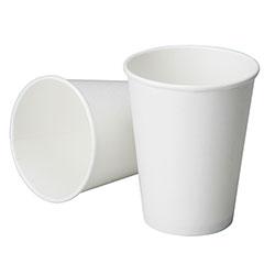Disposable Paper Cup - Cold Liquids - 7 oz - White