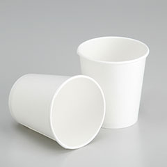 Biodegradable Paper Cup - Hot and Cold Liquids - 6 oz