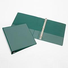 "Round Ring View Binders - 3"" Capacity* - Green"