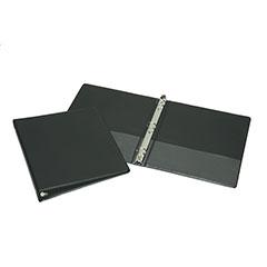"Round Ring Binder - 2"" Capacity - Black"