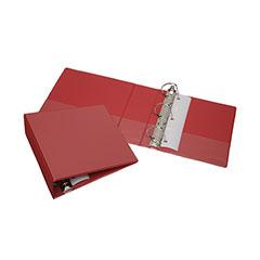 "Slant-D Ring View Binders - 3"" Capacity* - Red"