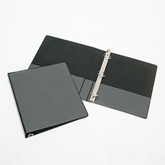 "Slant-D Ring View Binders - 1"" Capacity - Black"