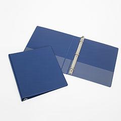 "Round Ring Binder - 2"" Capacity - Blue"